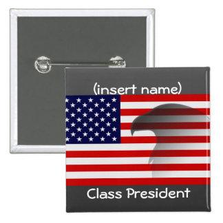 presidente de la clase pin