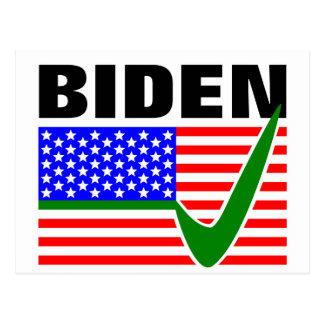 Presidente de la elección de Biden 2016 los Postal