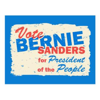 Presidente de las chorreadoras de Bernie de la Postales