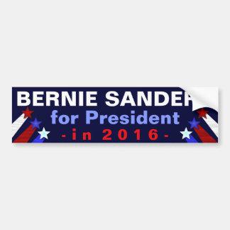 Presidente de las chorreadoras de Bernie elección Pegatina Para Auto