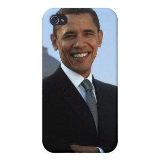 Presidente de los Estados Unidos de Barack Obama 4 iPhone 4/4S Fundas
