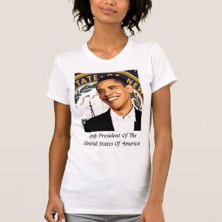 Presidente de los Estados Unidos de Obama 45.o Playera
