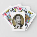 Presidente de los Estados Unidos de Obama Barajas De Cartas