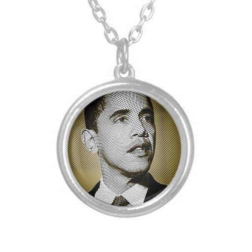 Presidente de los Estados Unidos de Obama Colgante Redondo
