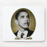 Presidente de los Estados Unidos de Obama Tapetes De Ratón