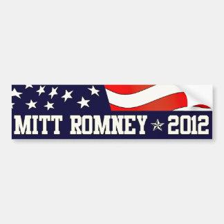 Presidente de Mitt Romney en 2012 Pegatina Para Auto