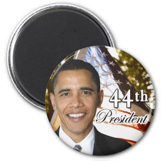 Presidente de Obama 44.o Imán Redondo 5 Cm