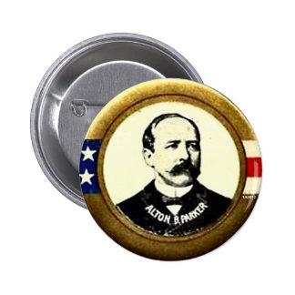 Presidente de Parker - botón Pin Redondo De 2 Pulgadas