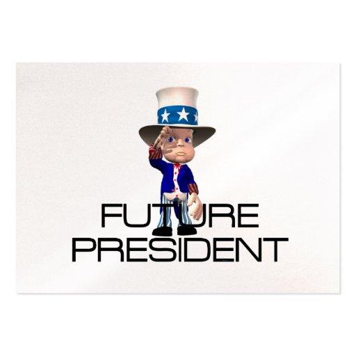 Presidente del futuro de la CAMISETA Tarjetas De Visita Grandes