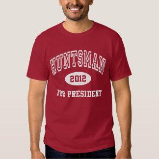 Presidente del Huntsman camisa 2012