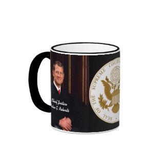 Presidente del Tribunal Supremo Juan G. Roberts Tazas De Café