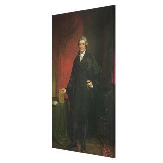 Presidente del Tribunal Supremo Marshall Impresión En Lona Estirada