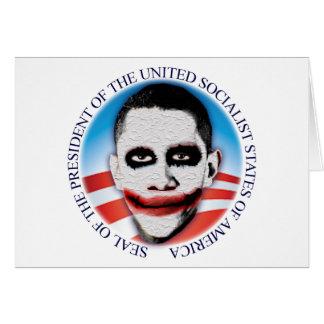 Presidente del USSA Tarjeta