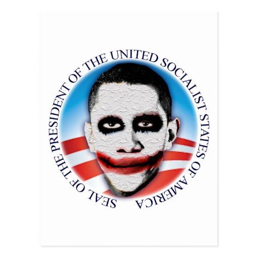 Presidente del USSA Tarjeta Postal
