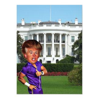 """presidente Donald Trump Invitación 5.5"""" X 7.5"""""""