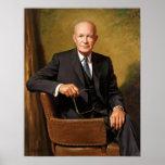 Presidente Dwight D Eisenhower Poster