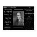 Presidente Dwight Eisenhower Tarjetas Postales