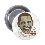 Presidente elegante 44 botón de Obama Pin