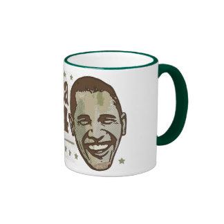 presidente elegante 44 taza de obama