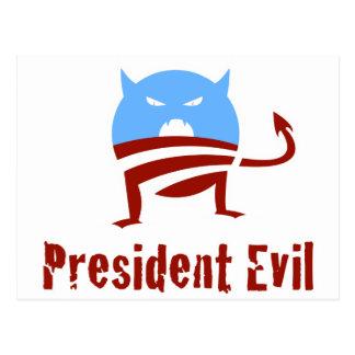 Presidente Evil de Anti-Obama Postal