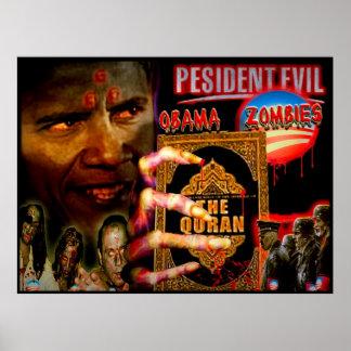 Presidente Evil y los zombis de Obama Impresiones