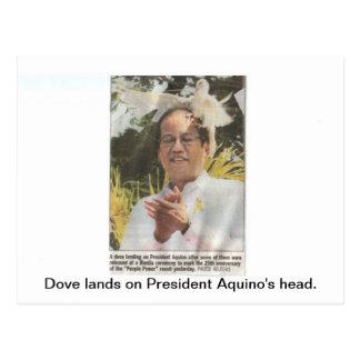 Presidente filipino Aquino Tarjetas Postales