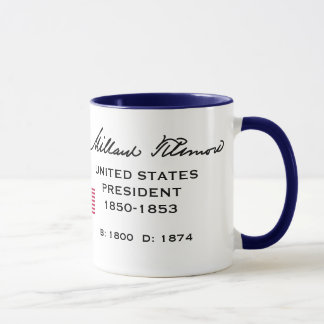 Presidente Fillmore, taza de Millard
