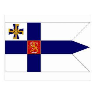 Presidente Flag de Finlandia Postal