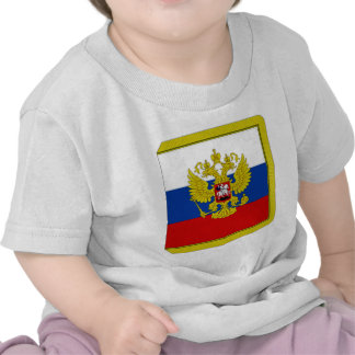 Presidente Flag de la Federación Rusa Camisetas