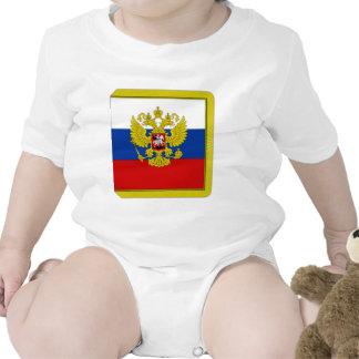 Presidente Flag de la Federación Rusa Traje De Bebé