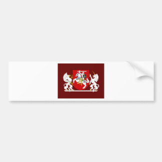 Presidente Flag de Lituania Pegatina De Parachoque