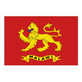 Presidente Flag de Malawi Postales