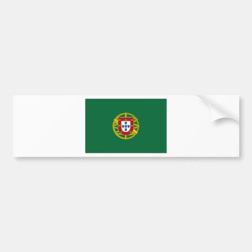 Presidente Flag de Portugal Pegatina Para Auto