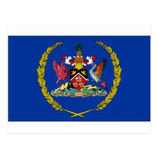 Presidente Flag de Trinidad Trinidad y Tobago Postales