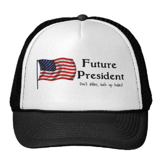 Presidente futuro gorro de camionero