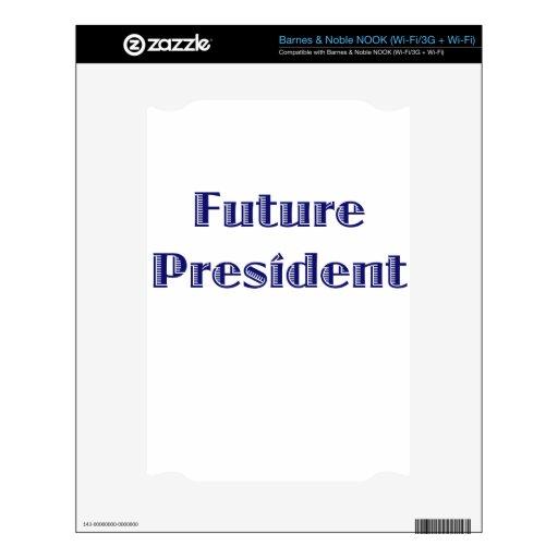 Presidente futuro NOOK skin