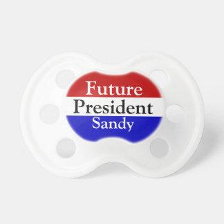 Presidente futuro Patriotic Personalized Name Chupetes