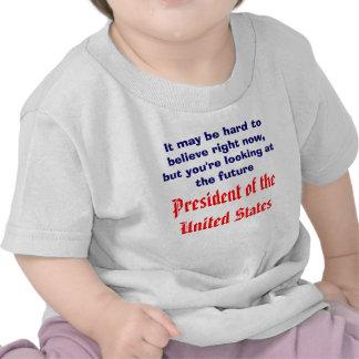 Presidente futuro camisetas