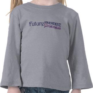 Presidente futuro camiseta