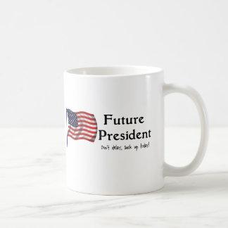 Presidente futuro taza clásica