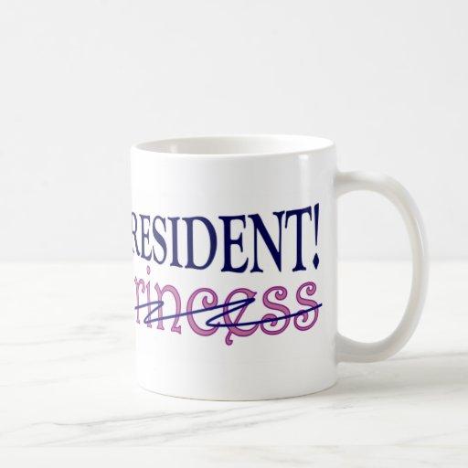Presidente futuro tazas de café