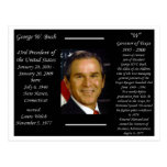 Presidente George W Bush Postales