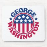 Presidente George Washington de los E.E.U.U. Alfombrilla De Ratones