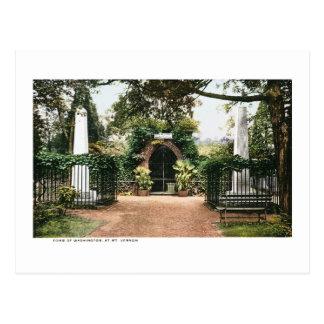 Presidente George Washington el Monte Vernon de la Postales