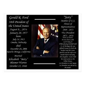 Presidente Gerald Ford Postal