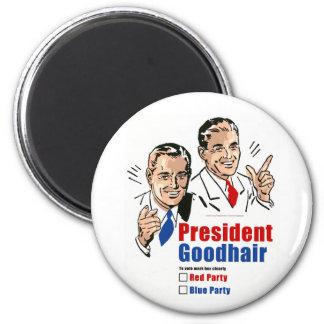 Presidente Goodhair Imán Redondo 5 Cm
