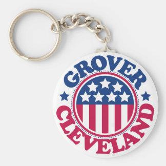 Presidente Grover Cleveland de los E.E.U.U. Llaveros