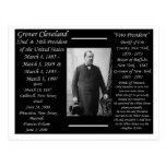 Presidente Grover Cleveland Tarjetas Postales