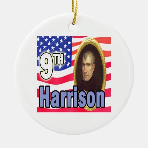Presidente Harrison Ornamentos De Reyes Magos
