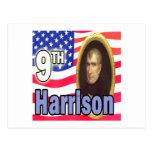 Presidente Harrison Tarjeta Postal